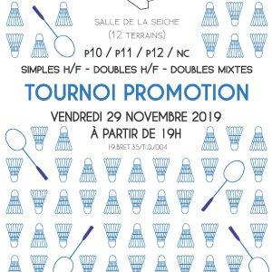 tournoi promotion 2019